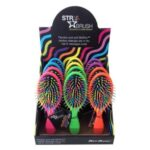 detangle shine brushes