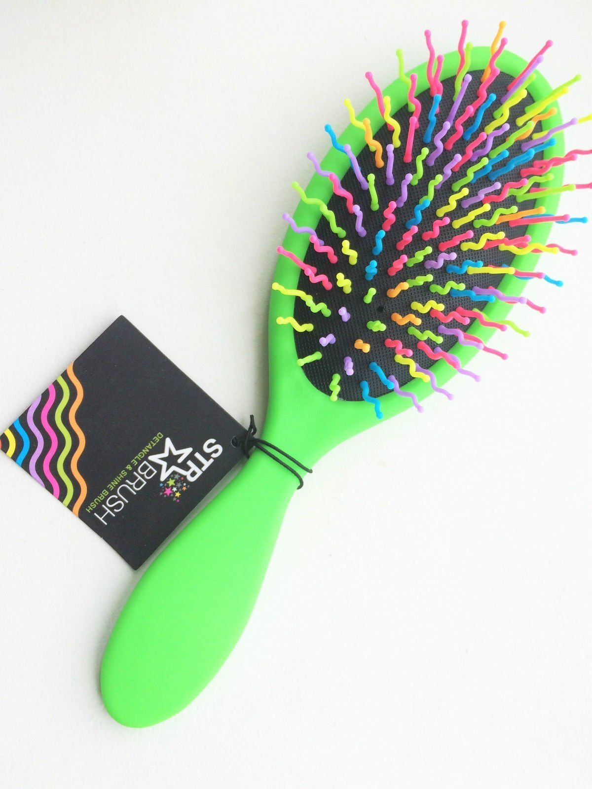 detangle brush green