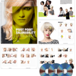 Pivot Point Salonability Cut and Color Notebook